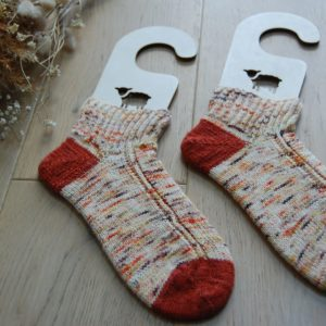 Chaussettes Ambre. Made in France