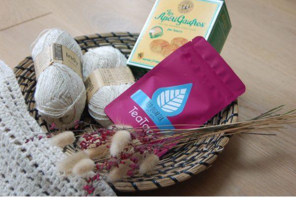 Croch'Thé Box du mois d'Avril. Du Fil A Retordre. Made in France