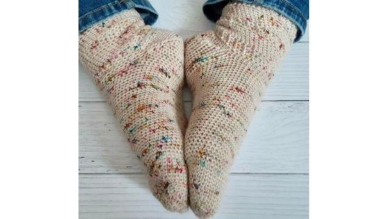 Les cherry socks par Chatcrochète