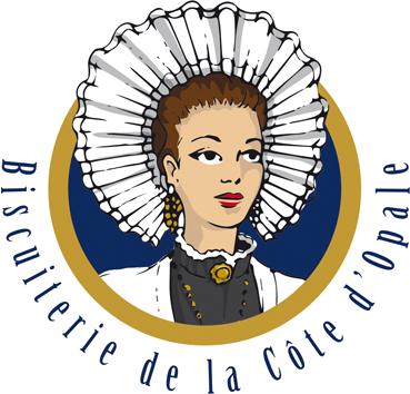 logo biscuiterie de la côte d'Opale